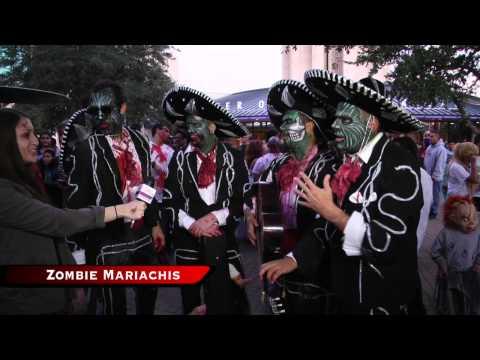San Antonio Zombie Walk 2012
