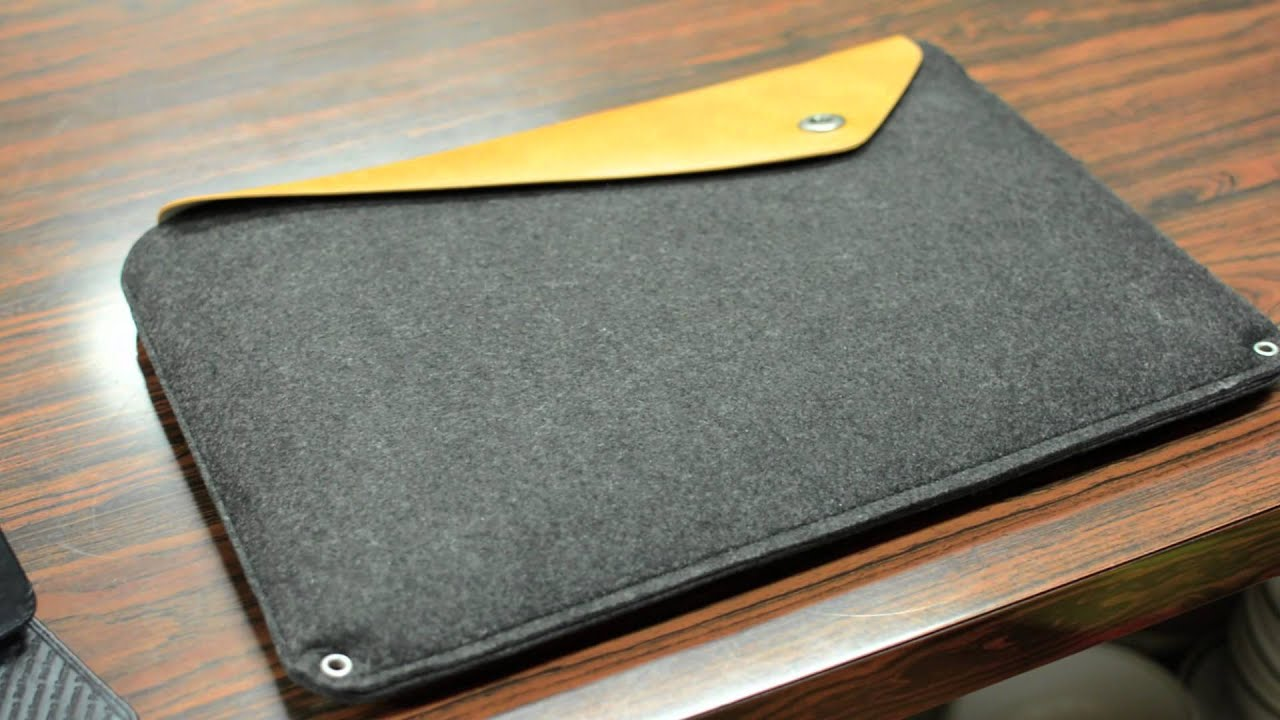 low priced 67e14 76b9e Stylish Sleeve for Your MacBook! - Mujjo Sleeve - Retina MacBook Pro
