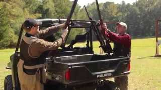 Great Day | Sporting Clays Utv Gun Rack | #tuckerrocky
