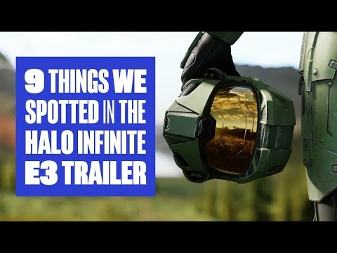 9 Things We Spotted In The Halo Infinite Reveal Trailer - Halo Infinite E3 2018