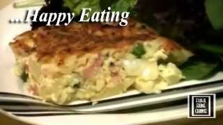 Easy Ham And Pea Impossible Pie - Frugal Foodie Channel