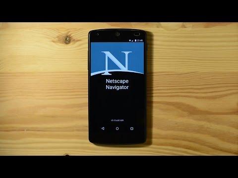 Netscape Navigator Mobile App Leaked