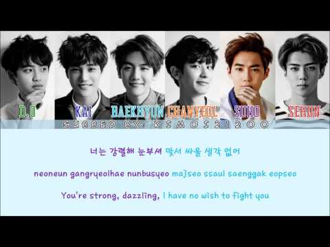 EXO-K - Transformer [Hangul/Romanization/English] Color & Picture Coded HD