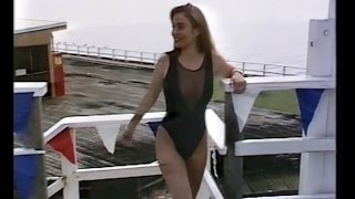 Natalie Imbruglia in Neighbours swimsuit competition