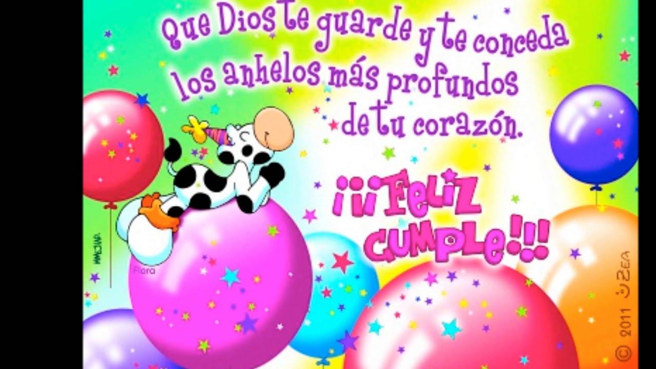 Feliz Aniversário Para Tia: Feliz Cumpleaños Tia Hermosa =)