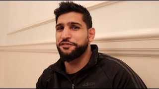 'HALF A MILLION DOLLARS?' - AMIR KHAN TALKS CRAWFORD, PACQUIAO-BRONER & 'WOULD LOVE TO FIGHT' BROOK