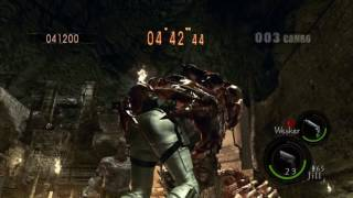 Resident Evil 5 Mercenaries on Ancient Ruins - PC Coop (S Ranking)