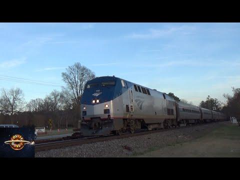 NS H-Line: Amtrak 79 (Garner, NC 1/16/20)