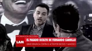El pasado oscuro de Fernando Carrillo