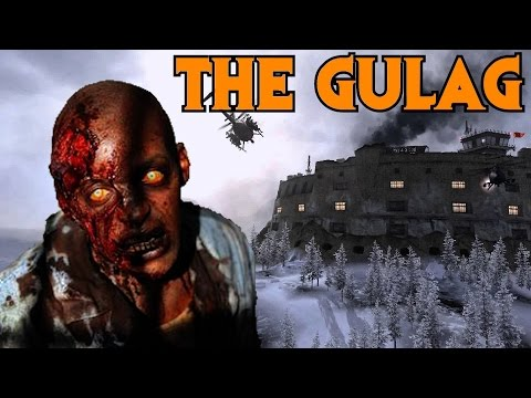 MODERN WARFARE 2 GULAG ZOMBIES - ZOMBIE PRISON BREAK!