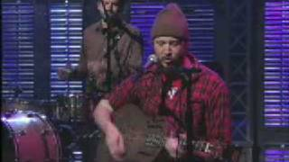 Bon Iver on Letterman | Skinny Love