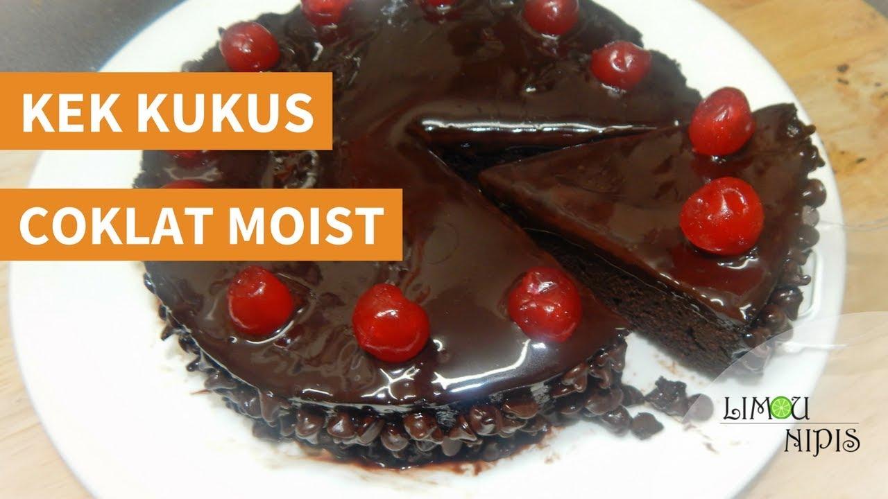 Kek Kukus Coklat Moist Youtube