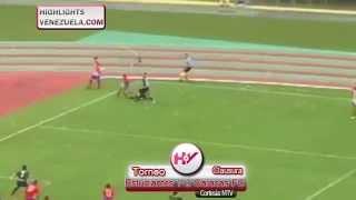 Highlights 11/01 Torneo Clausura FutVe. Estudiantes de Mérida vs Caracas FC