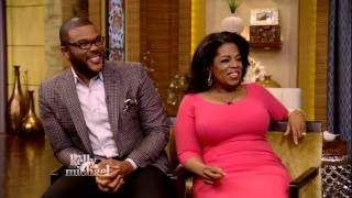 """Oprah Winfrey and Tyler Perry Crown Kelly Ripa and Michael Strahan """"King and Queen"""" of Daytime TV"""