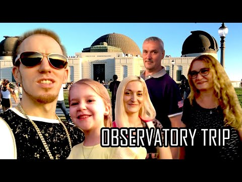 Trip To The Observatory & Hollywood Hotel