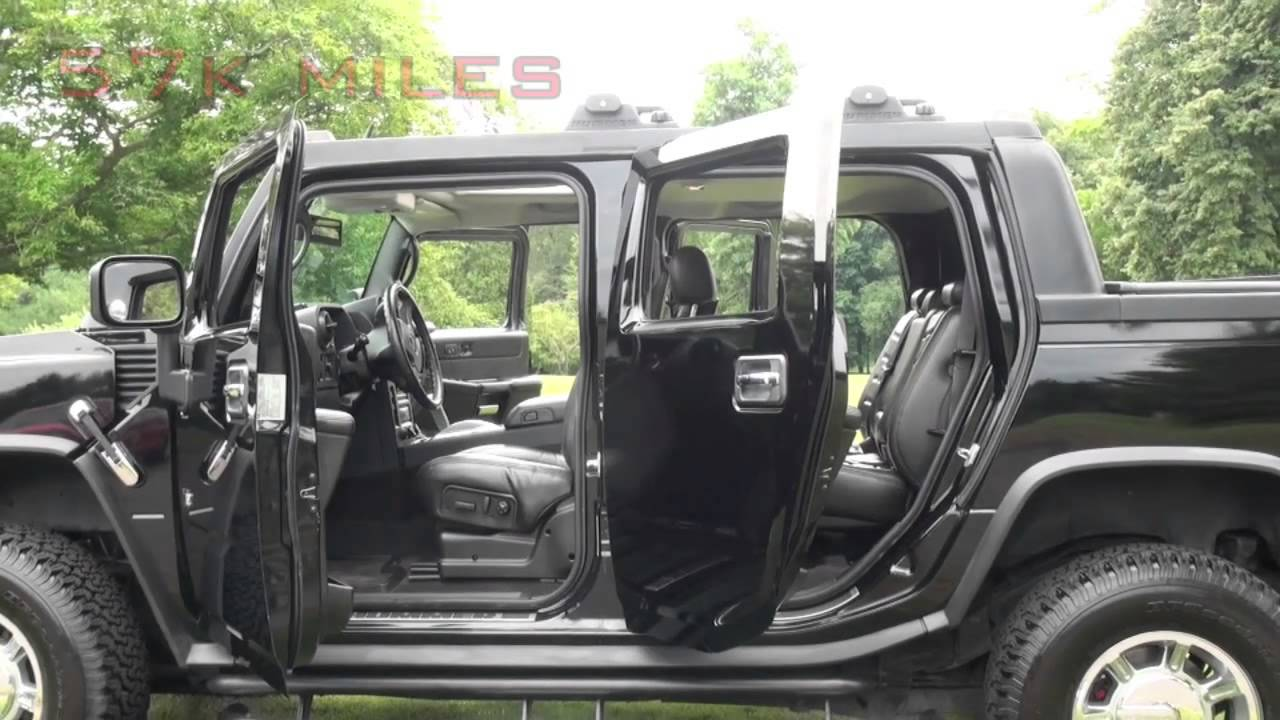 HUMMER H2 SUT Luxury In Black For Sale At Karl Chevrolet In New Canaan CT