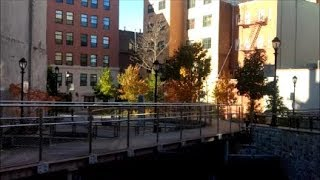 Yonkers Saw Mill River Daylighting - Mill Street Courtyard