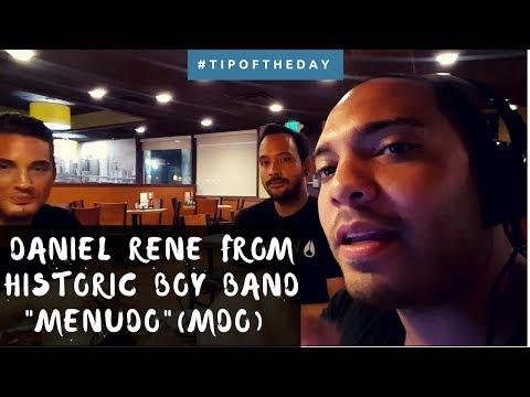 "DANIEL RENE FROM HISTORIC BOY BAND ""MENUDO""(MDO) | EXCLUSIVE INTERVIEW"