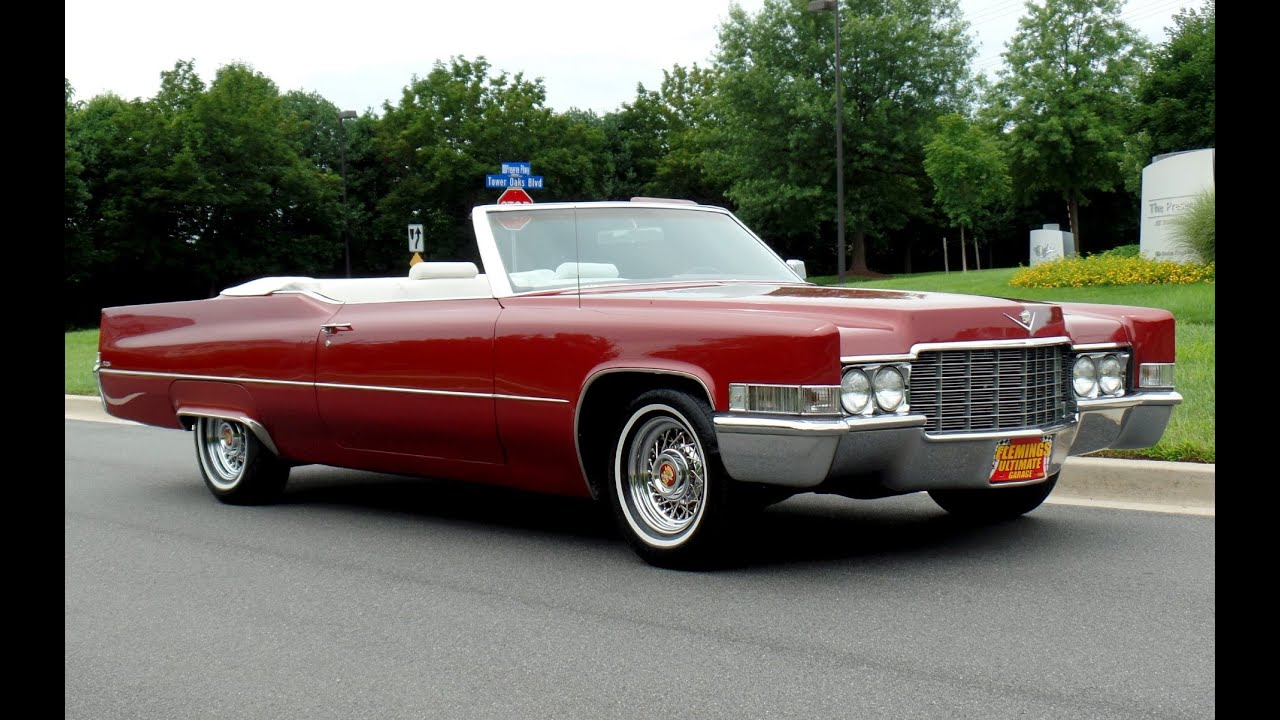 Fabulous 1969 Caddy Convertible For Sale! - YouTube