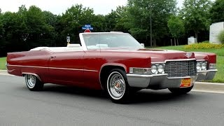 Fabulous 1969 Caddy Convertible For Sale!