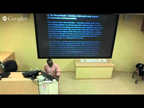 Feb 20th, 2013 - Dr. George Dei - Indigenous philosophies, counter epistemologies and anti-colonial