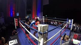 Ultra White Collar Boxing | London | Ring 1 | Sandra & Andrea & Dorian VS Natalia Zdolska