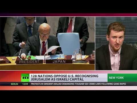 128 nations oppose US recognizing Jerusalem as Israeli capital