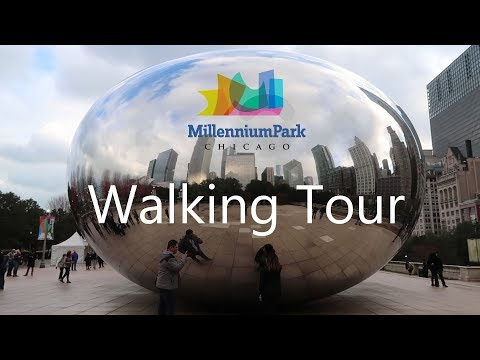 Millennium Park Chicago / The Bean / Cloud Gate Plaza / Pizzeria Due