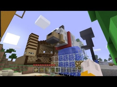 Minecraft - A Theme Park In Paradox | Komic's World Tour - Part 1