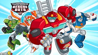 Transformers Rescue Bots: Hero Adventures Save Civilians From Volcanoes!