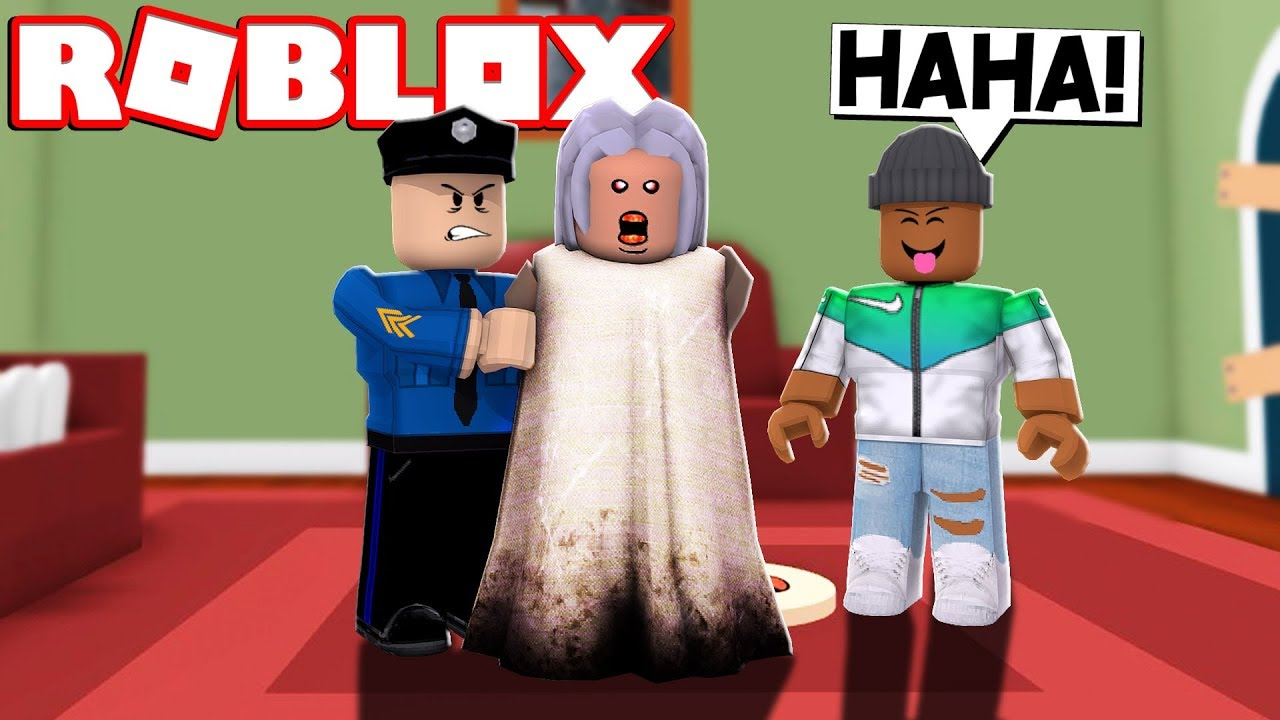 New Granny Gets Arrested In Roblox
