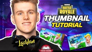 Lachlan Teaches You How To Make Fortnite Thumbnails  HyperX Crash Course
