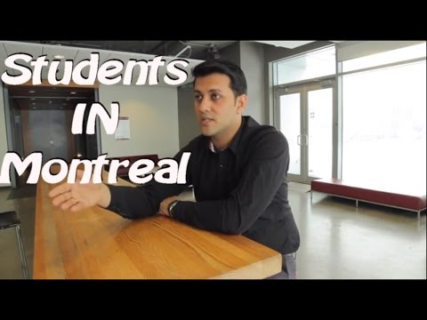 International Students in Montreal Canada   Johny Hans Short