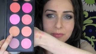 Blush Professional 10 Colour Blush Palette Review with Swatches Thumbnail