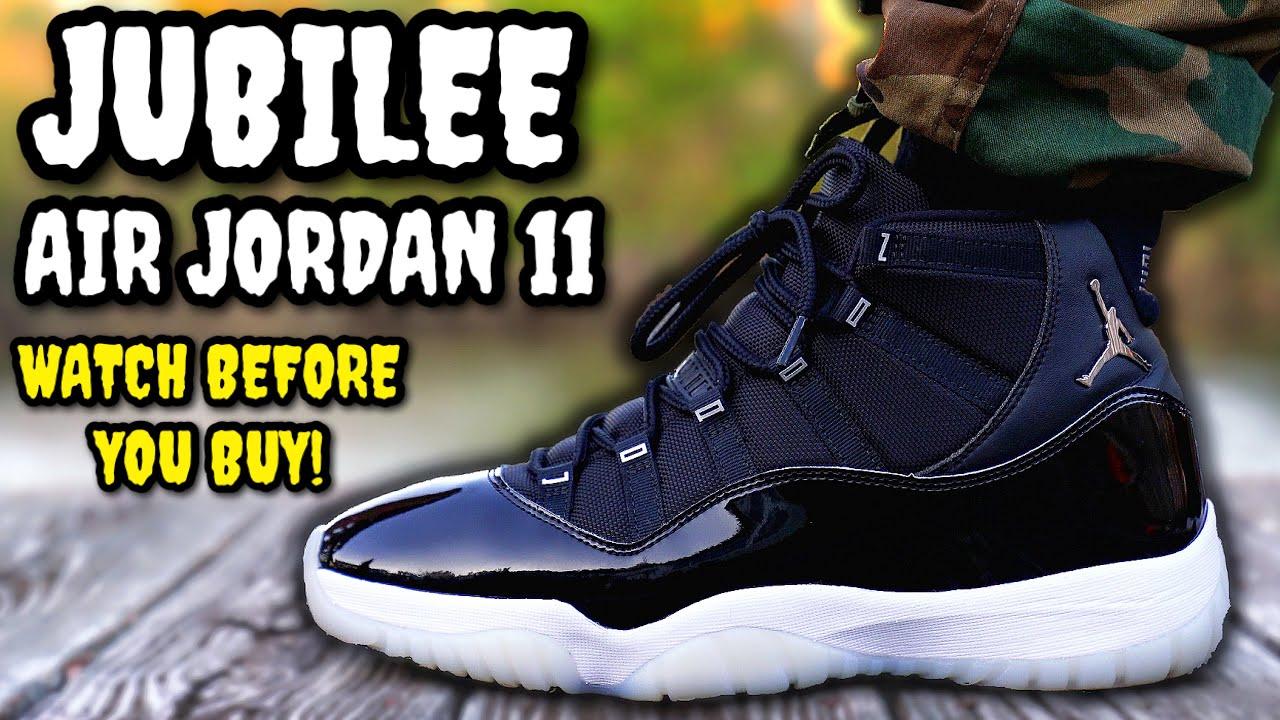 Air Jordan 11 JUBILEE ON FEET REVIEW