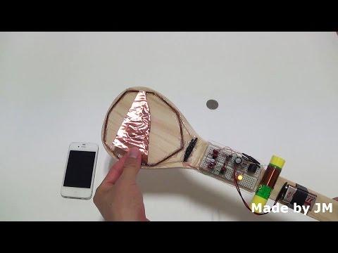 BFO Metal Detector on breadboard step by step guide (브레드보드에 금속탐지기 회로 만들기)