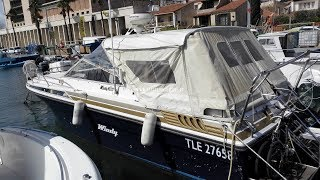 VEDETTE WINDY 9800 à vendre/for sale by Languedoc Yachts