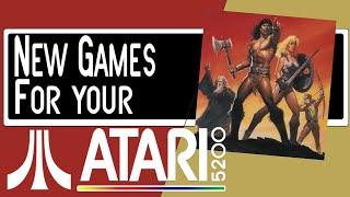 New Games for y๐ur Atari 5200 Part 5