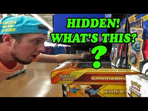 HIDDEN POKEMON CARD OPENING and SEARCHING THE STORE! Found a haul #22