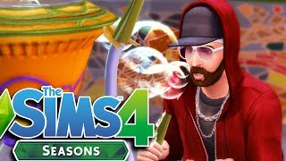 DRUG PARTY | The Sims 4 with SEASONS EXPANSION Gameplay/Let