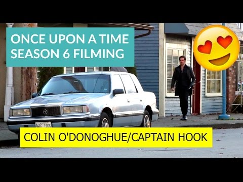 Colin O'Donoghue FILMING ONCE UPON A TIME 6x19 | Captain Hook