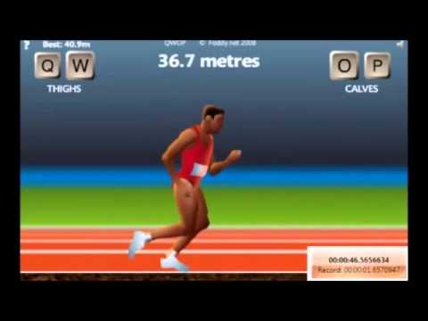 QWOP WORLD RECORD (The Right Way) 101.4 Meters