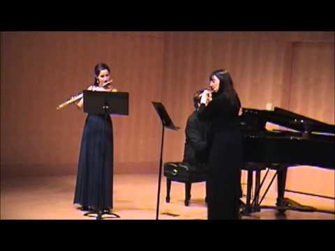 The Flower Duet (Lakmé ) - Gina Luciani, Laurel Ann Maurer, and Jed Moss