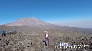 Climbing Mt. Kilimanjaro Part 3 of 3 The FINAL SUMMIT