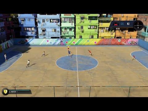 3v3 FIFA Street Gameplay (FIFA 18 The Journey)