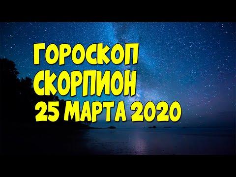 Гороскоп на сегодня и завтра 25 марта Скорпион 2020 год | 25.03.2020