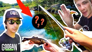 1v1 Backwater CLEAR CREEK CHALLENGE! ( JON B vs PERIC )