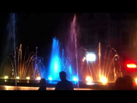 Musical Fountain from Pitesti Country, Romania