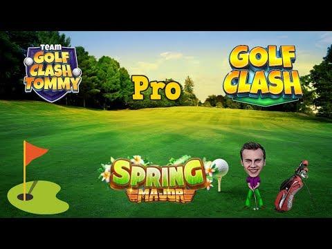 Golf Clash tips, Playthrough, Hole 1-9 - PRO - TOURNAMENT WIND! Spring Major Tournament!