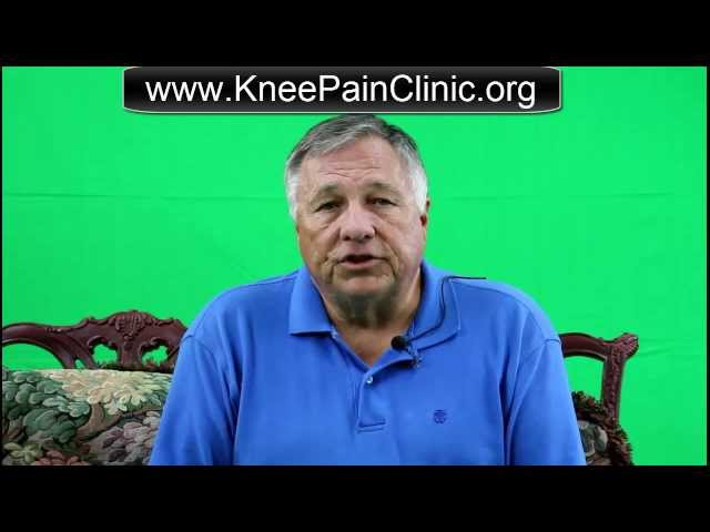 Prevent Knee Surgery | 956-668-0044 | Gary Reed